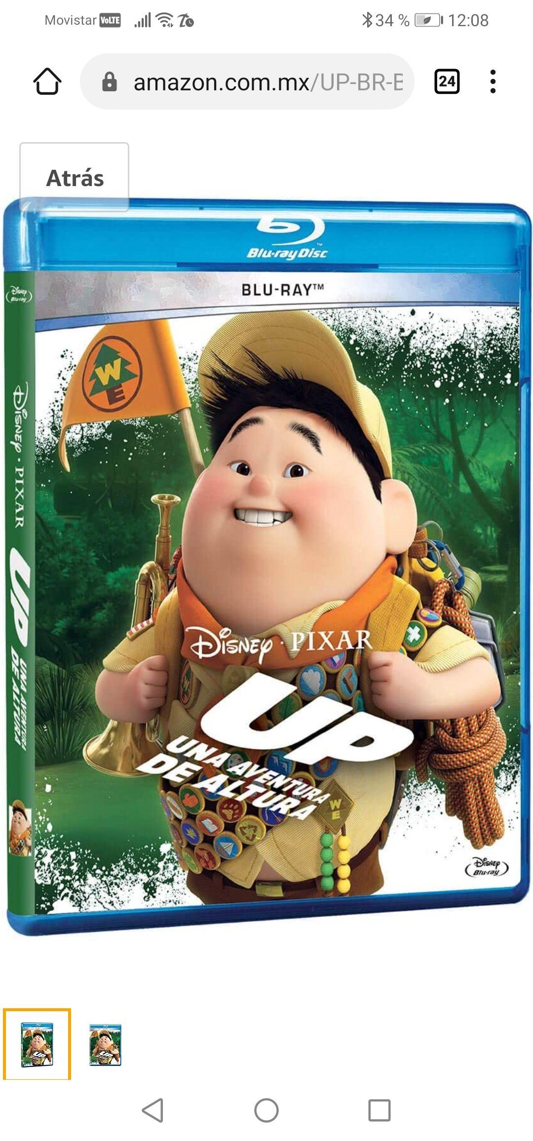 Amazon: película UP - BR [Blu-ray]