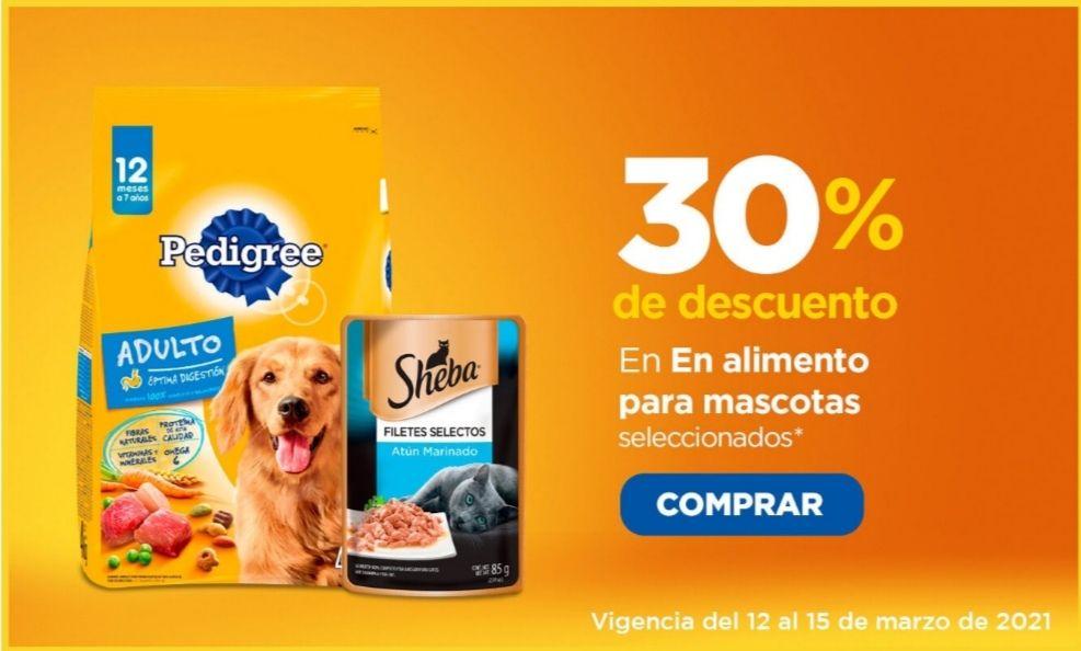Chedraui: 30% de descuento en alimento para mascotas seleccionados (no entró la promo... Solo 20% de descuento en Pedigree, Whiskas y Champ)