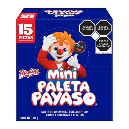 Sam's club: Mini Paleta Ricolino Payaso con 15