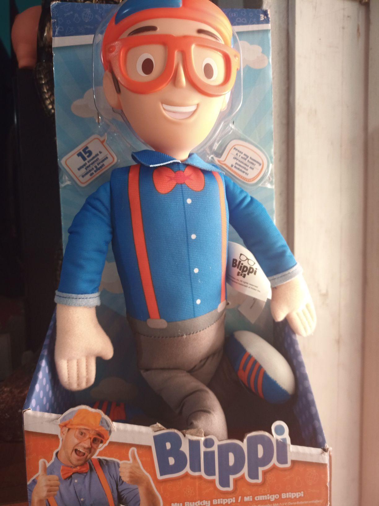 Walmart muñeco del mendigo Blippi