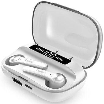 Linio: Lenovo Auriculares QT81 Audifonos Bluetooth-Blanco