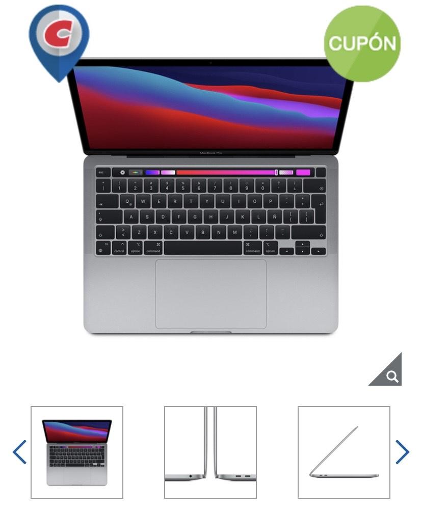 "Costco: Apple Macbook Pro 13"" Chip M1 256GB Gris Espacial"