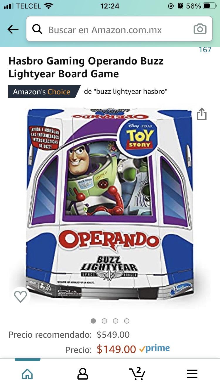 Amazon: Operando Buzzlightyear