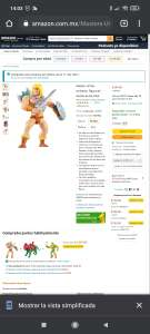 Amazon: He-man masters of the universe