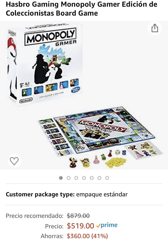 Amazon: Monopoly Gamer Edición Coleccionistas