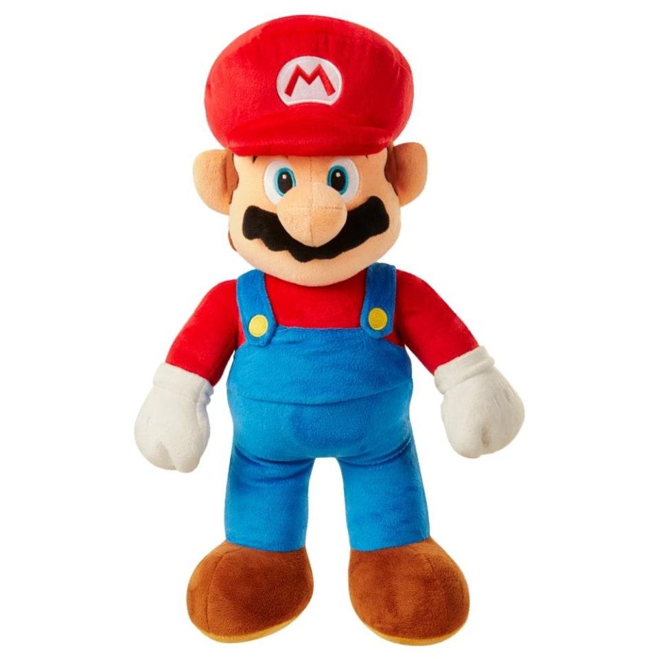 Walmart: Peluche Nintendo Mario Bros Rojo 49cm