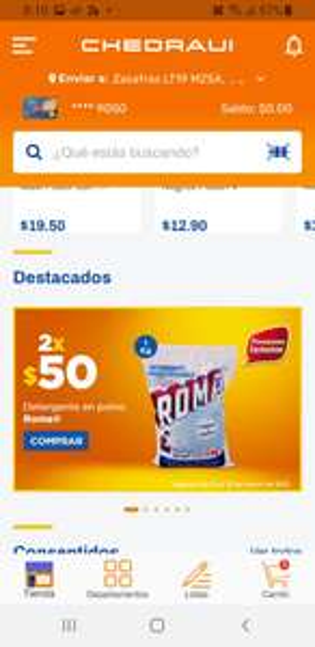 CHEDRAUI: JABON ROMA DE 1KG, 2*$50