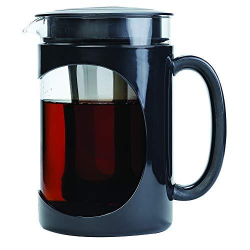 Amazon: Primula Burke Cafetera Helada Cold Brew para infusión en frío, Jarra de Vidrio de 1.6 Cuartos (51.2 onzas), Color Negro
