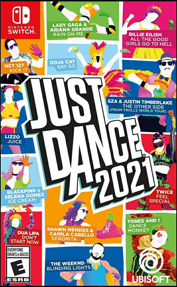 Amazon: Just Dance 2021 para Nintendo switch