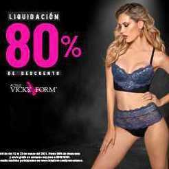 Vicky Form: Venta Final Hasta 80%