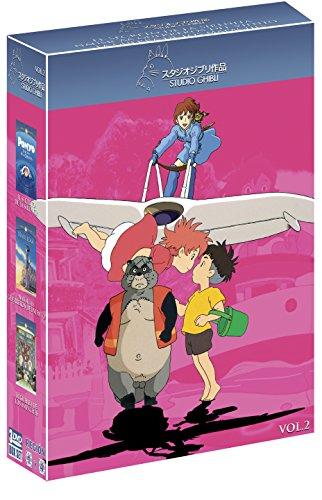 Amazon: Ghibli. Volumen 02, Ponyo: El Secreto de la Sirenita, Nausicaá: Guerreros del Viento y La Guerra de los Mapaches