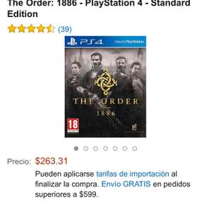 Amazon: The Order PS4