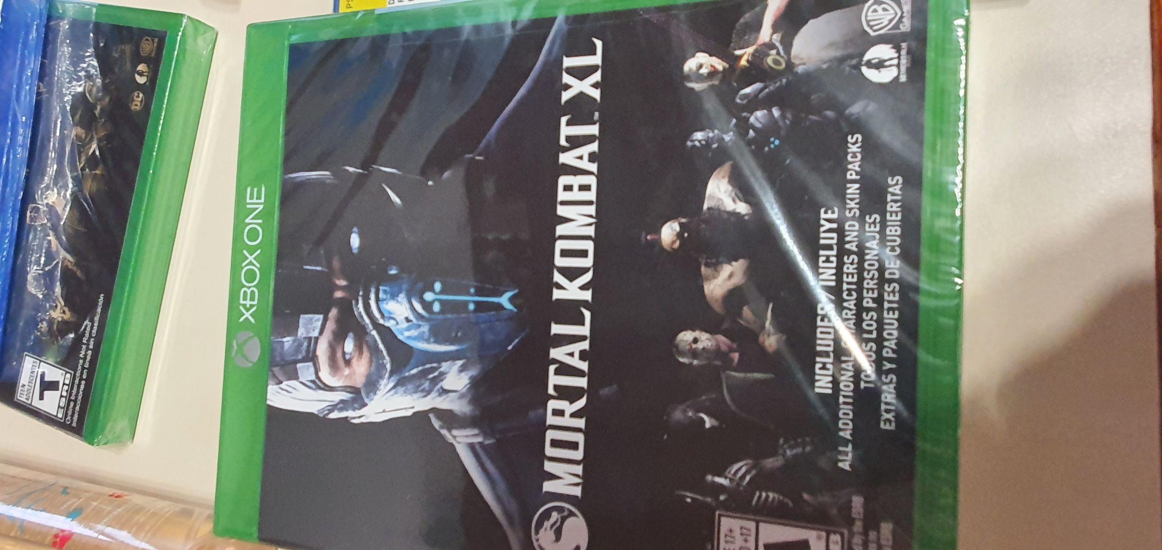Bodega Aurrera: Mortal Kombat XL para xbox y ps4