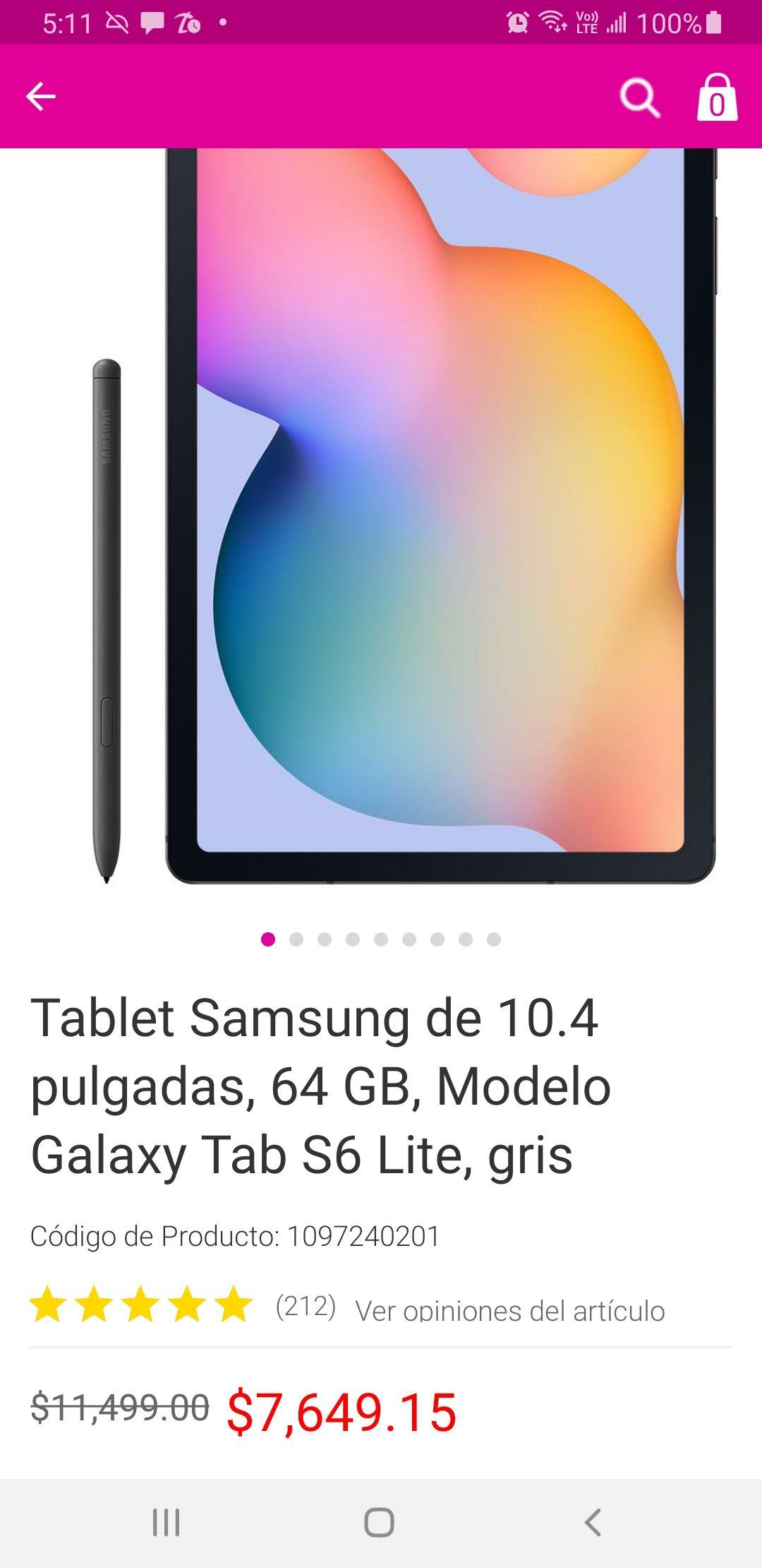 Liverpool: Samsung Galaxy tab 6 lite
