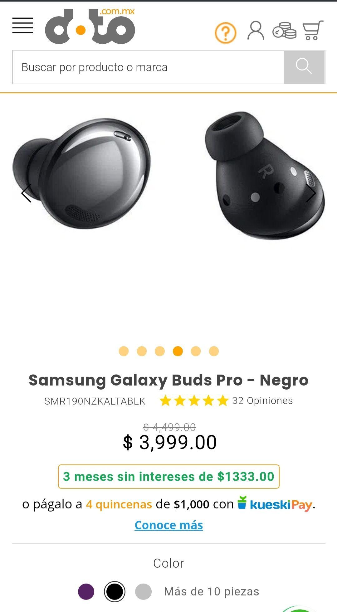Doto: Samsung Galaxy buds pro