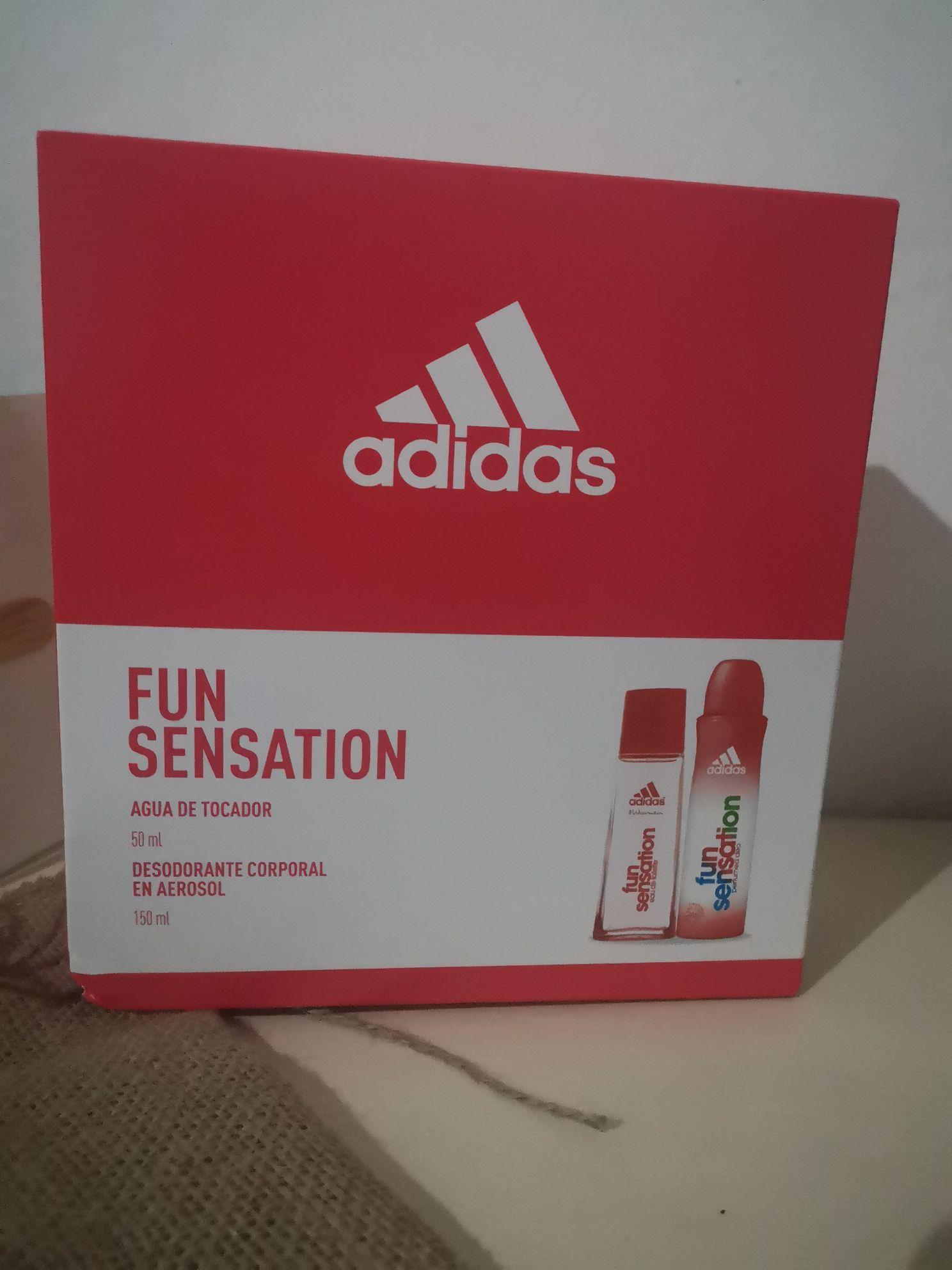 Chedraui 50% de desc Fun sensation Adidas | Agua de tocador y desodorante