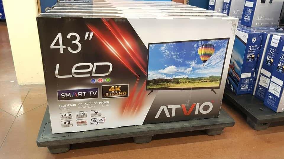 En Walmart Smart tv atvio 43 pulgadas