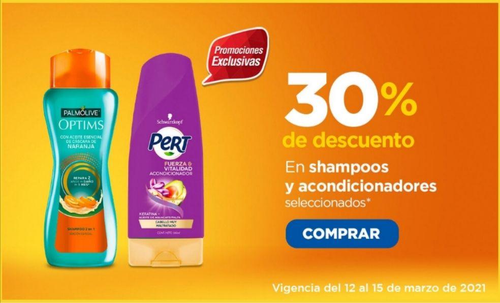 Chedraui: 30% de descuento en shampoos y acondicionadores Sedal, Caprice, Optims, Stefano, Medicasp, Alert, Tío Nacho y Vanart