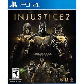 Bodega Aurrera: Injustice 2 Legendary edition ps4