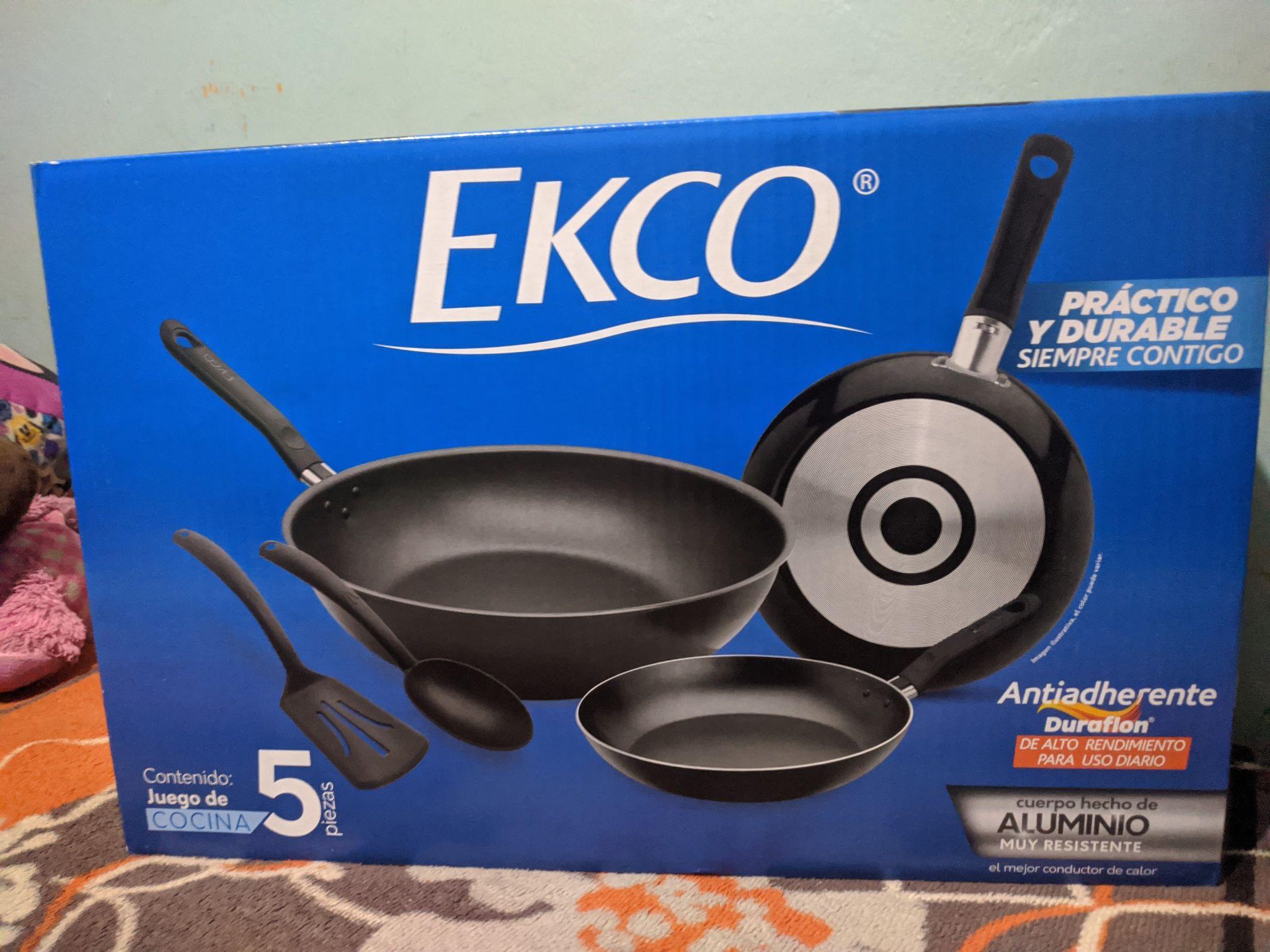 Walmart: Sartenes Ecko 5 piezas y madriguera saqueada