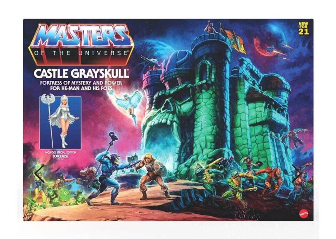 Juguetibici: Masters Of The Universe Origins Castillo Grayskull GXP44 Mattel
