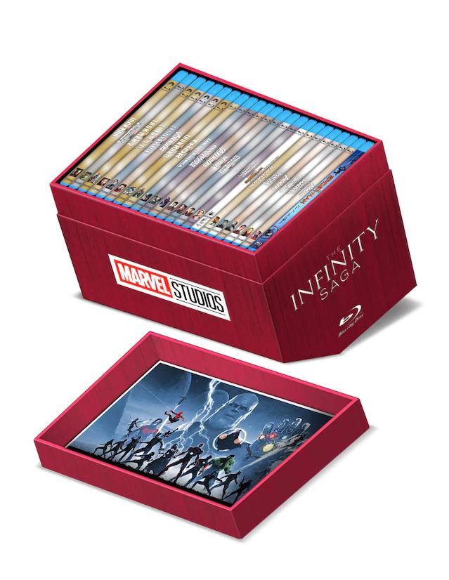 Infinity Saga Blu-Ray Liverpool