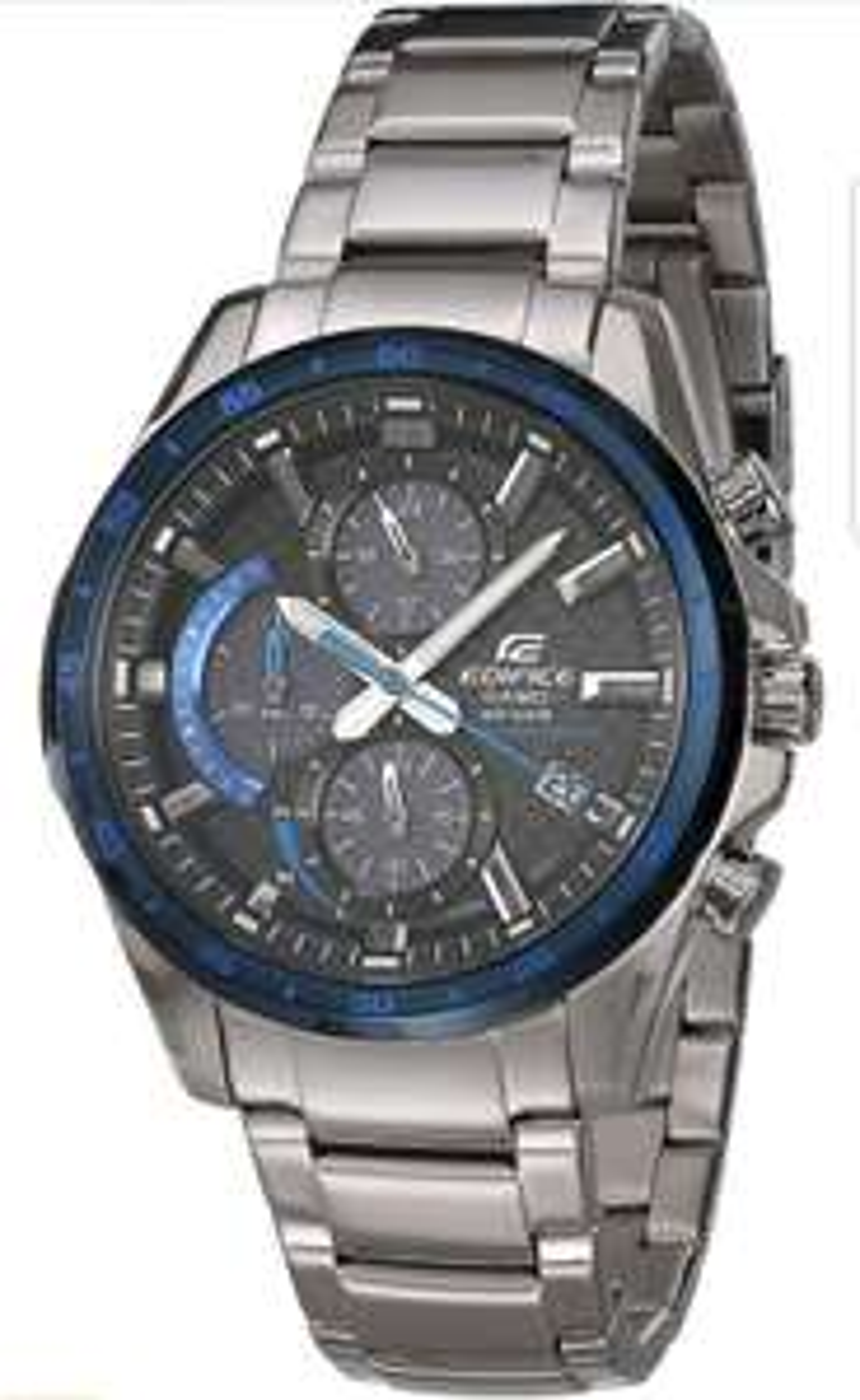 Amazon, Reloj Casio Edifice para Hombres 46mm, pulsera de Acero Inoxidable (Touch Solar)