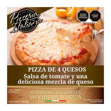 Sam's Club Pizza de cuatro quesos