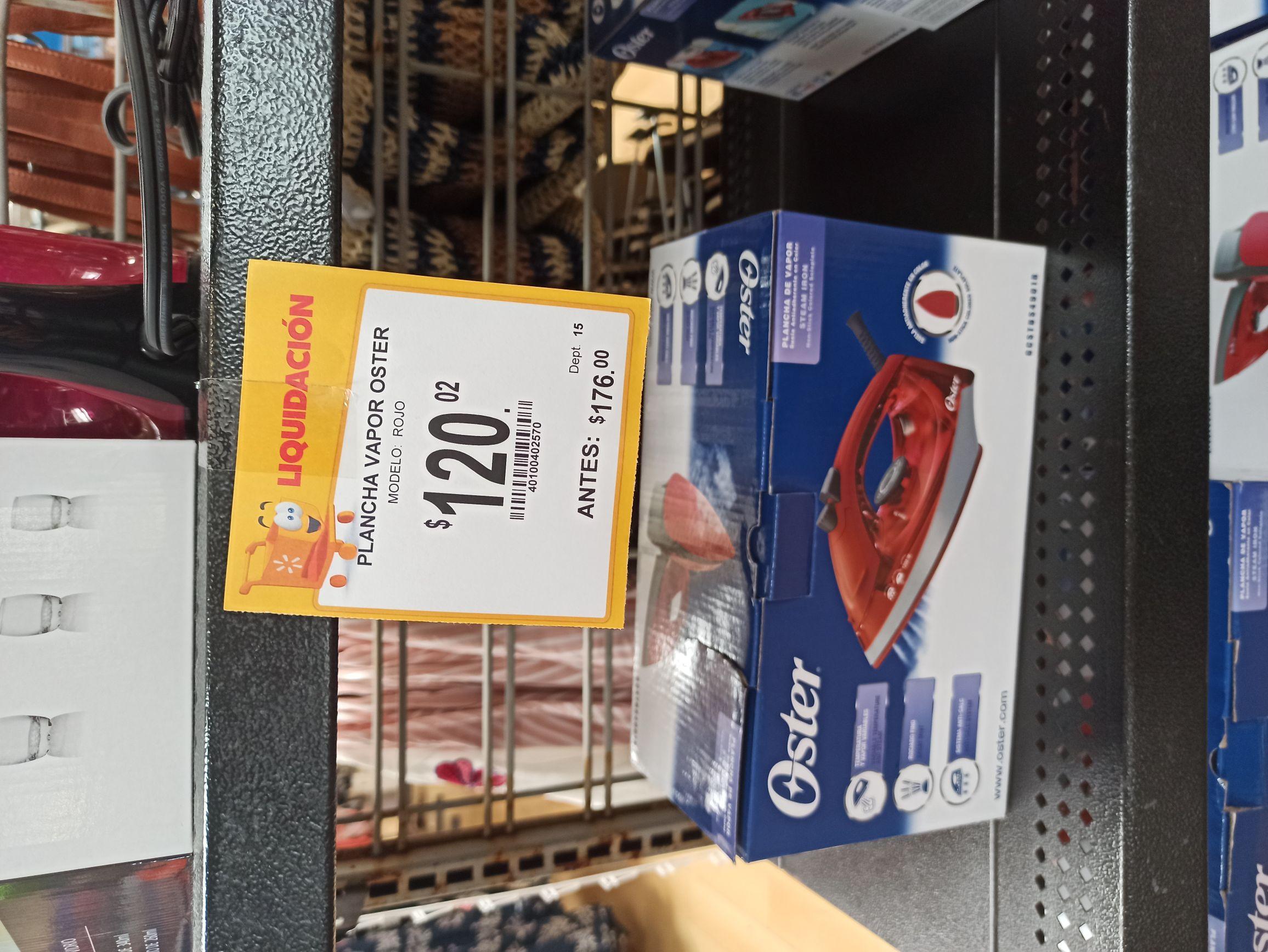 Walmart: Plancha Oster en rebaja.