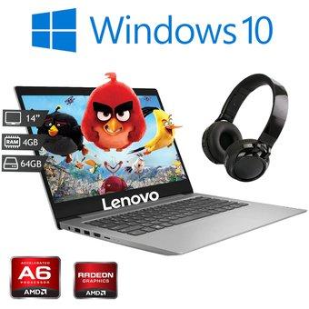 Linio: Laptop Lenovo Ideapad 14AST-05 AMD A6-9220 4GB 64GB Pagando con Paypal