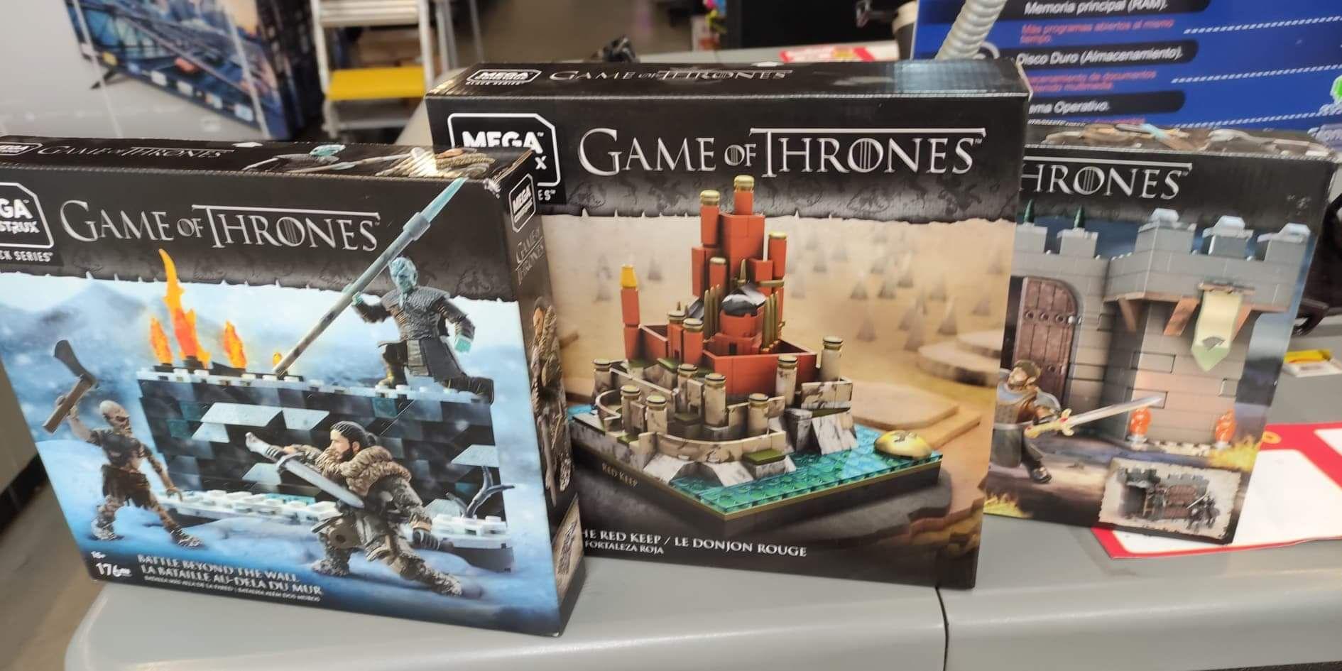 Game of thrones - Mega construx - walmart