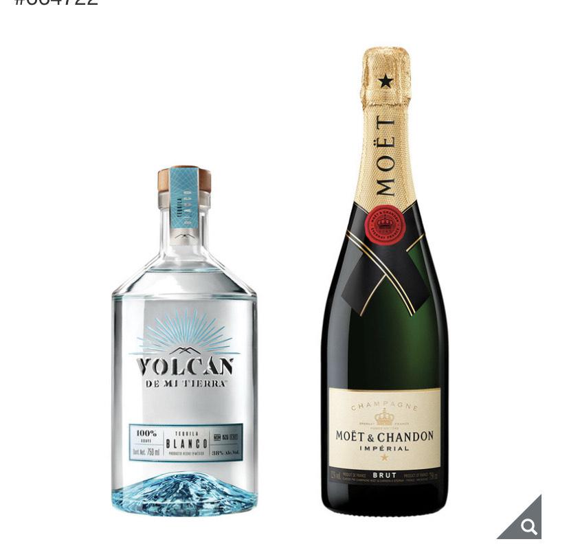 Costco: Tequila + Moet