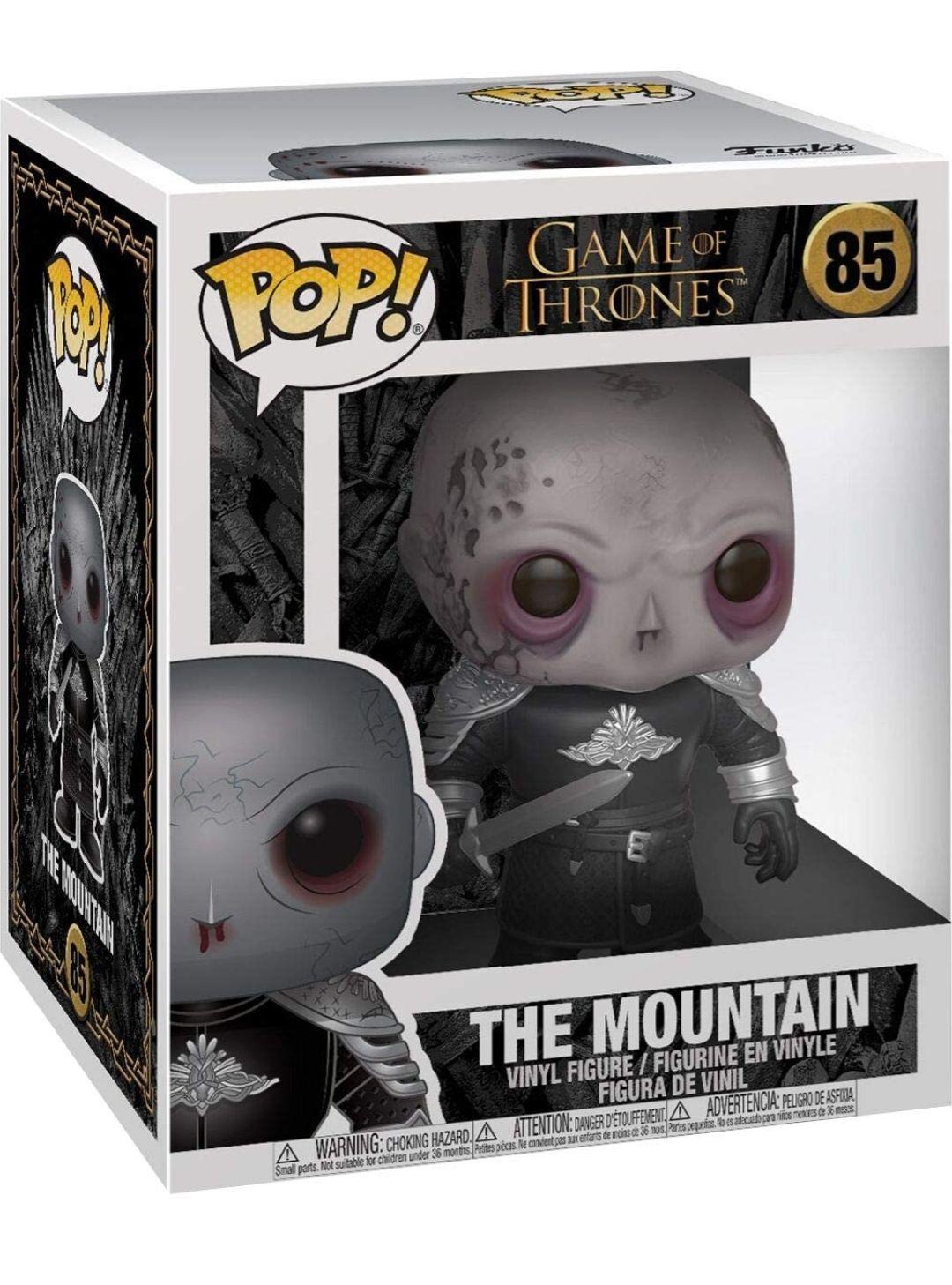 """Amazon: Funko """"Super Sized"""" de 6"""" Pulgadas - Game of Thrones The Mountain Unmasked"""