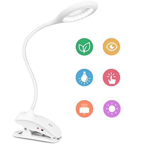 Amazon: Lámpara led de escritorio