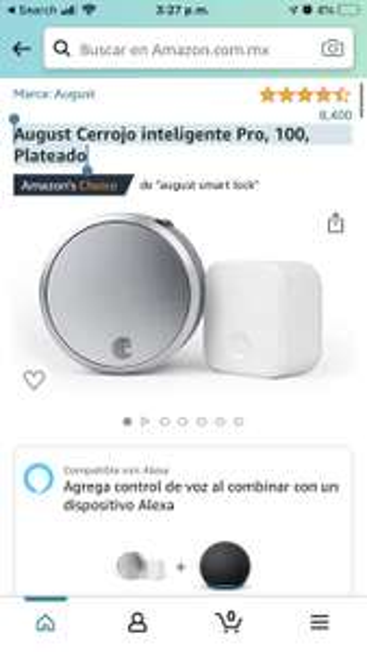 Amazon: August Cerrojo inteligente Pro