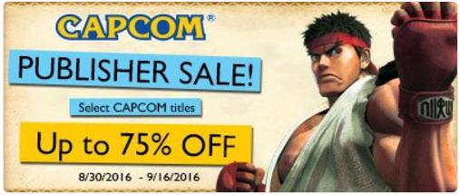 Nintendo eShop: Capcom Publisher Sale, descuentos hasta del 75% en juegos para 3DS y WiiU