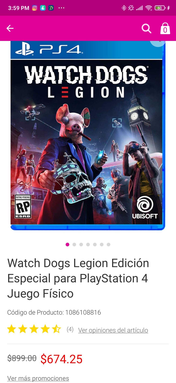Liverpool: Watch dogs legión ps4/ps5 y Xbox one/series x