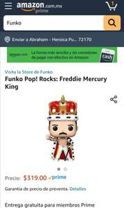 Amazon - Funko Freddie Mercury King