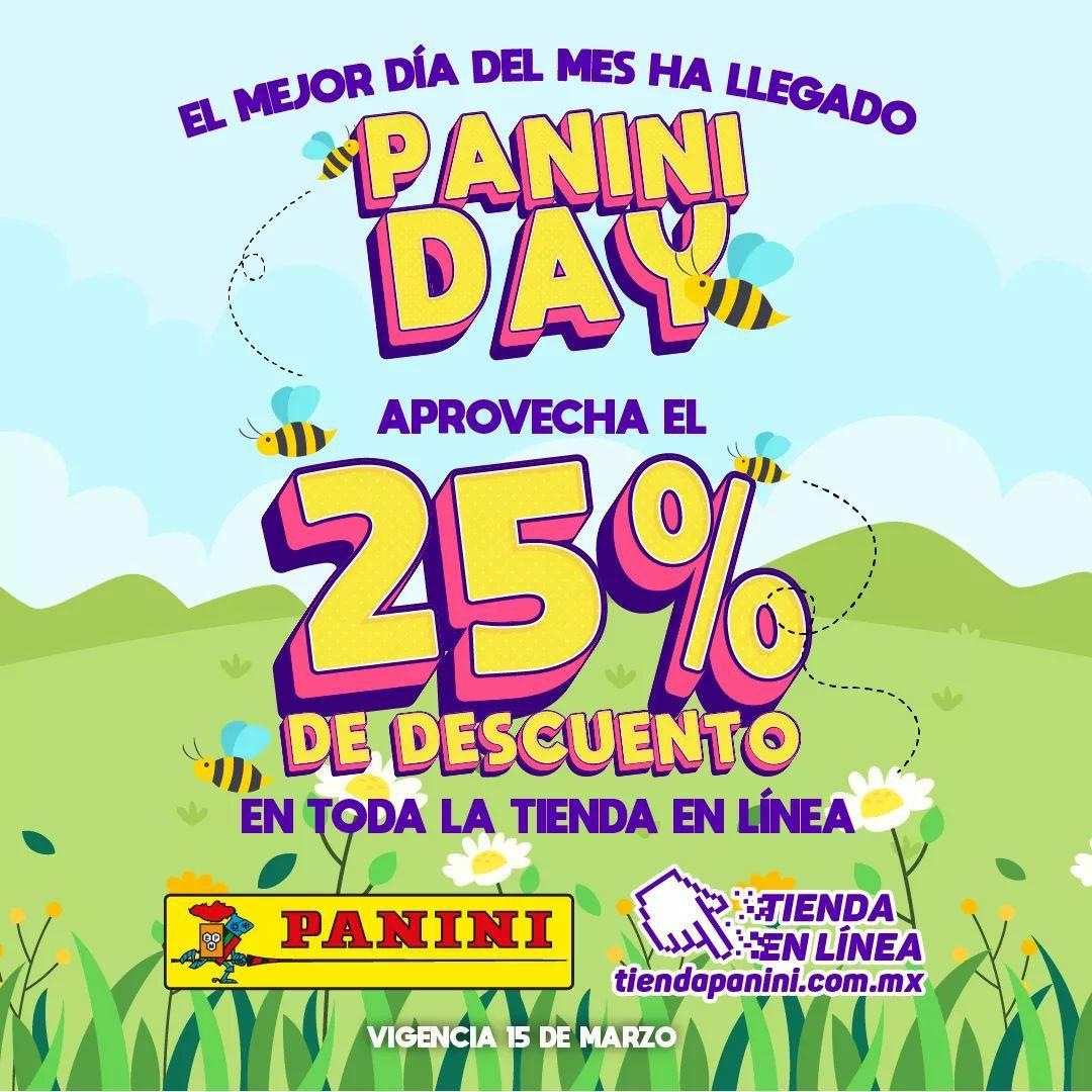 Panini: Panini Day con 25% Desc.
