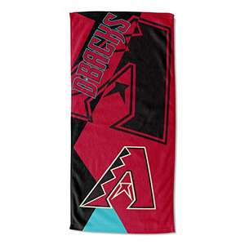 Amazon: Toalla THE NORTHWEST COMPANY MLB Arizona Diamondbacks Puzzle Beach Towel