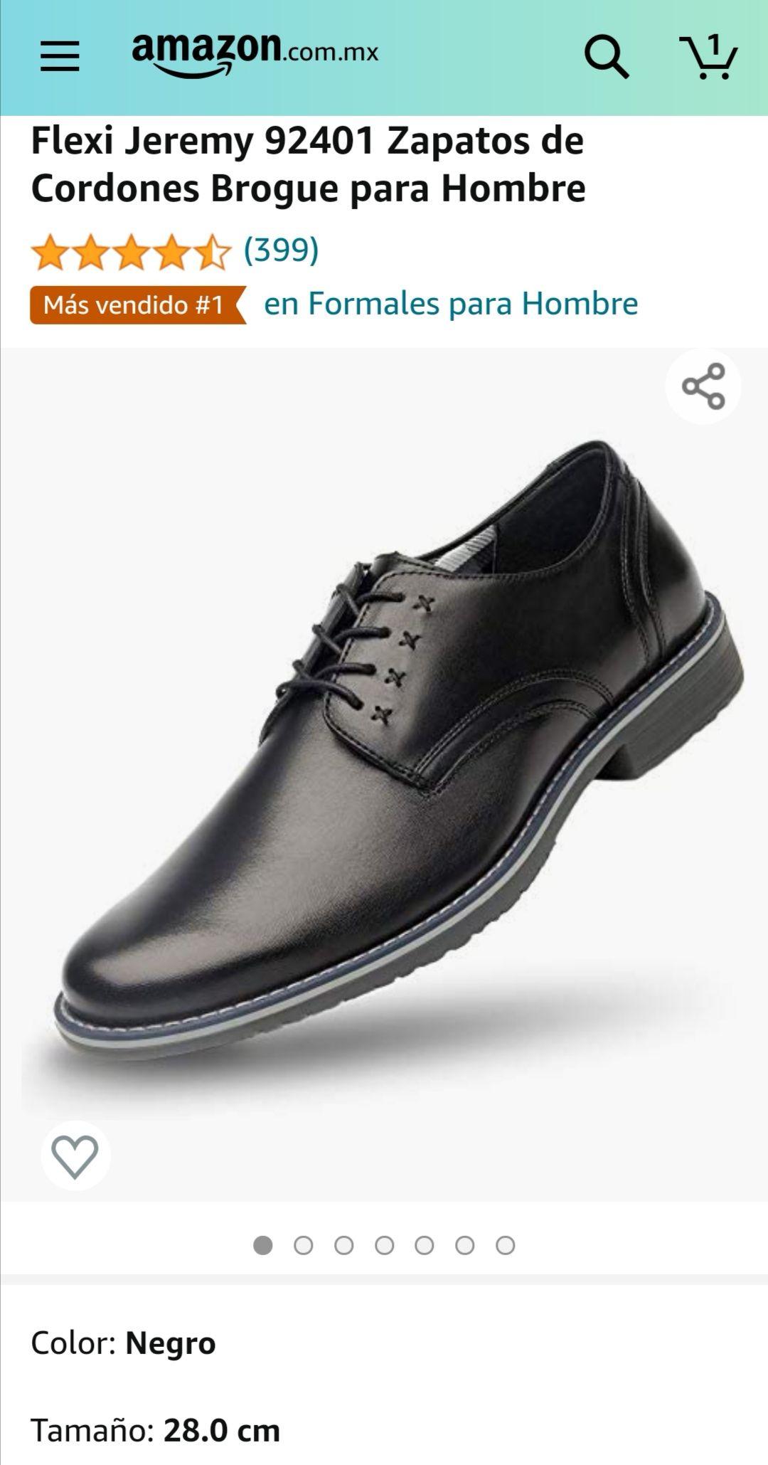 Amazon: Zapato flexi