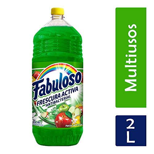 Amazon: Fabuloso Limpiador Líquido Frescura Profunda, Pasión de Frutas, 2