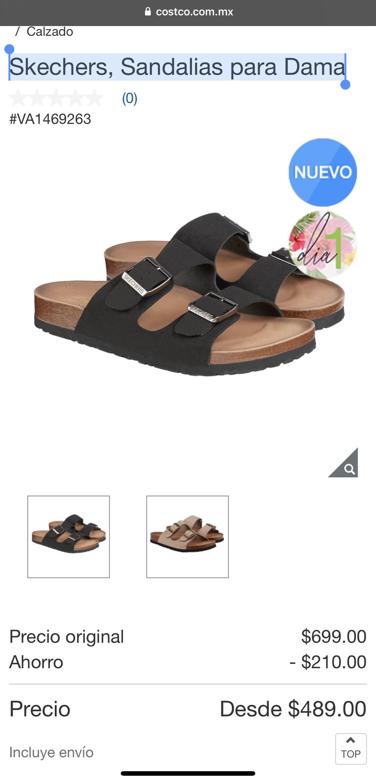 Costco: Skechers Sandalias para Dama