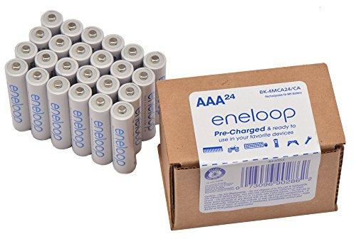 Amazon: 24 Panasonic BK-4MCA24/CA eneloop AAA 2100