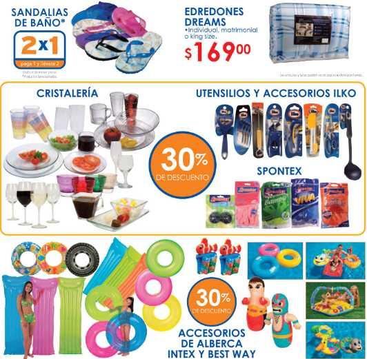 Chedraui folleto 13/07: 2x1 en sandalias y tortillas de harina, películas a $15.90, descuento en electrodomèsticos y más