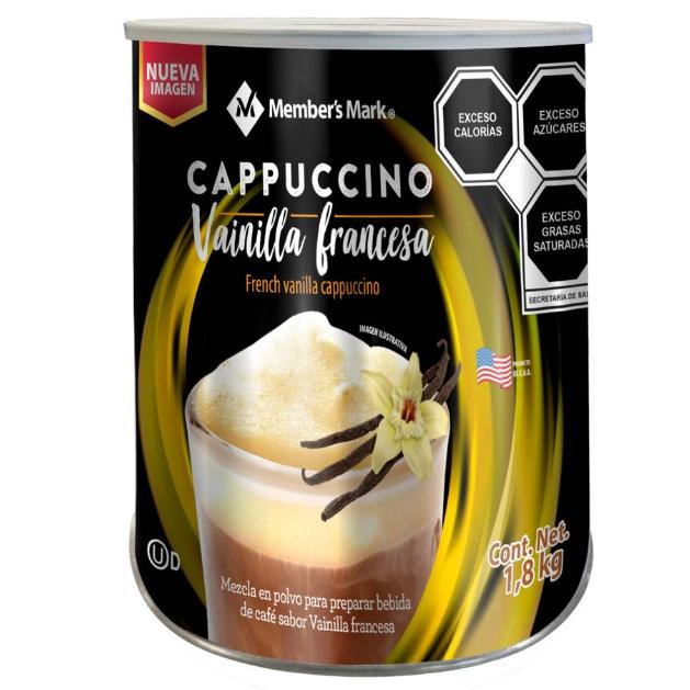 Sam's Club: Café Member's Mark Capuccino Vainilla 1.8 kg