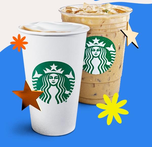 Starbucks: Pide 2 productos y obtén doble de estrellas
