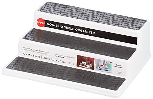 Amazon: Organizador Multiusos , Blanco 25.4 x 22.8 x 7.6 cm