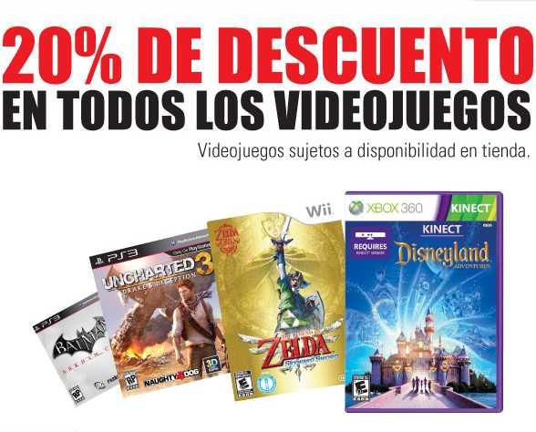 RadioShack: 20% de descuento en todos los videojuegos y otras promociones
