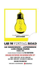 U2 | The Virtual Road (iNNOCENCE + eXPERIENCE, Live In Paris 2015)